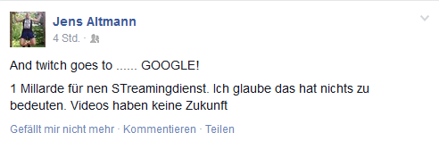 Google kauft Twitch
