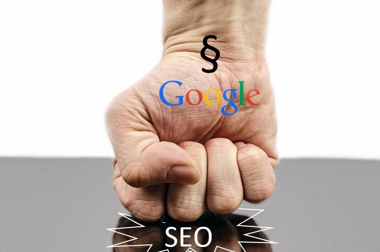 Faust mit Google und Paragraph puncht SEO