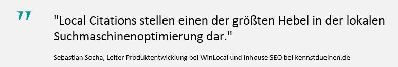 Zitat local citations Sebastian Socha