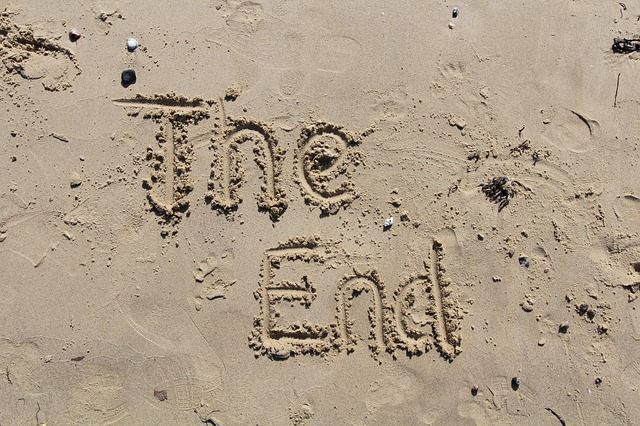 the end in sand geschrieben