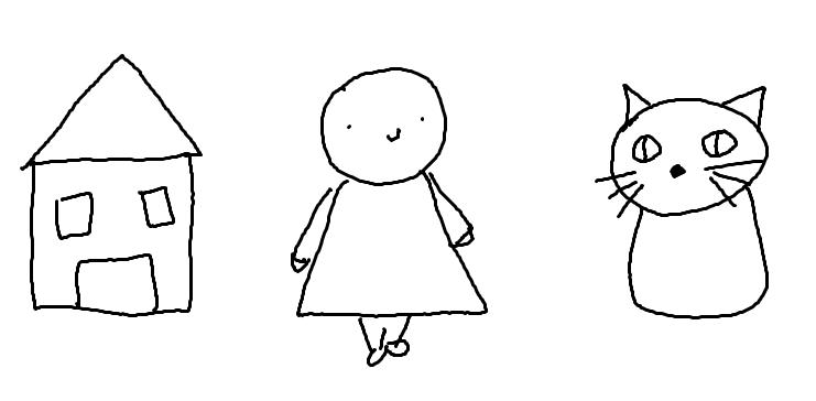Symbole, die Kinder sich angeeignet haben
