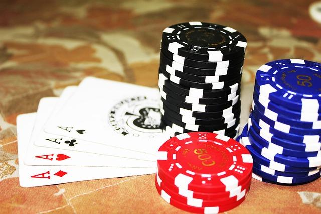Poker um eine Position im 7-Pack