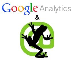 screaming frog google analytics