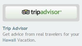 Beispiel für einen Sidebar-Link auf eine Unterseite von tripadvisor.com