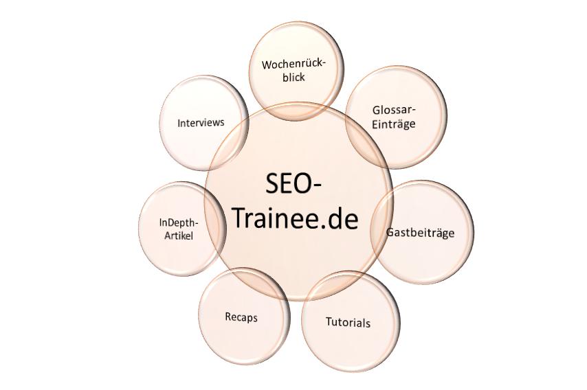 SEO-Trainee Schaubild