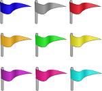 Symbolbild Fahnen