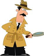 Symbolbild Suche Detektiv