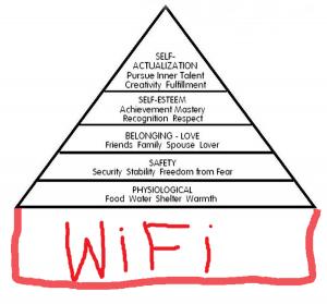 Maslow Pyramide - WiFi