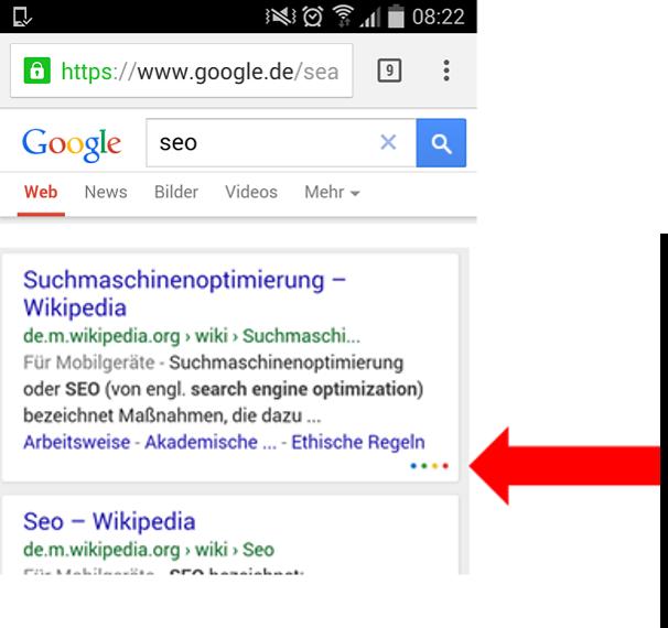 seo-suedwest-google-mobile-suche-farbige-punkte