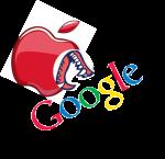 Apple-frisst-Google