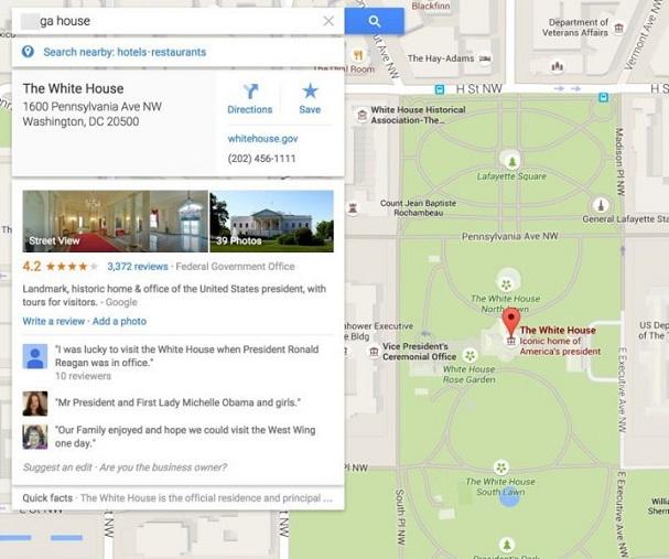 Das_weiße_Haus_Google_Maps_Ergebnis