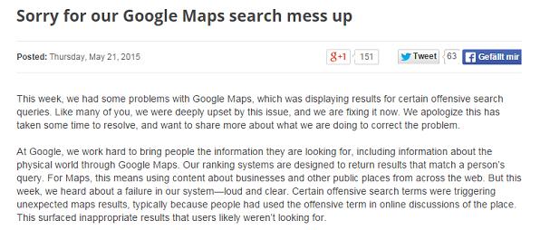 Googles_Entschuldigung