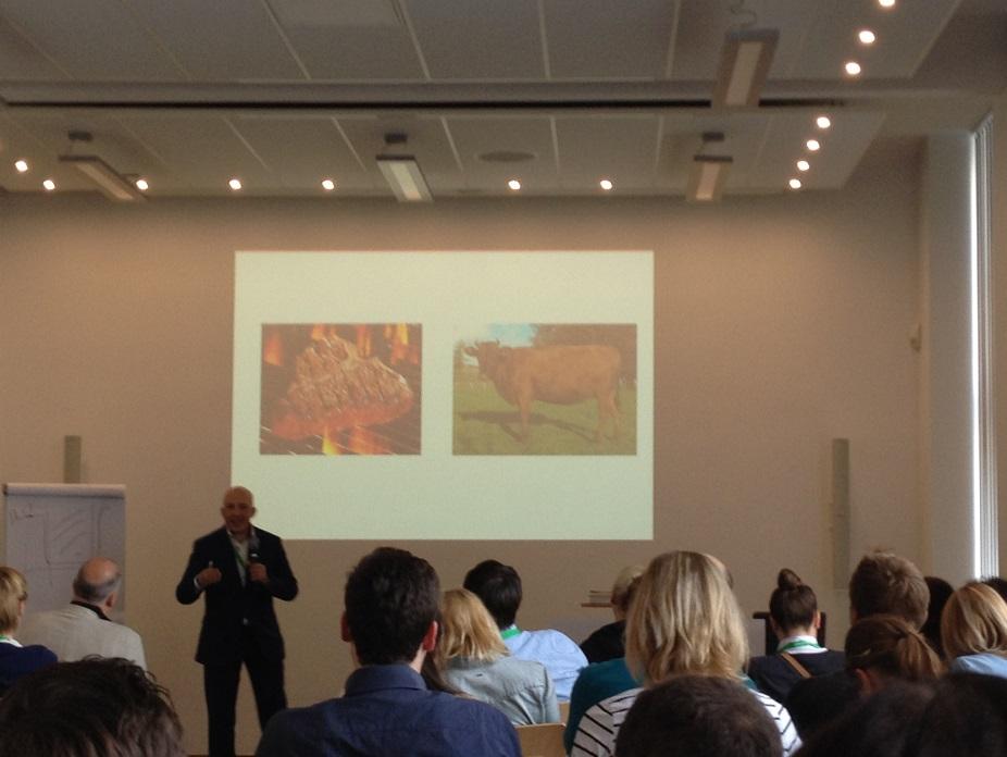 Veit Etzold auf der Content Marketing Masters 2015