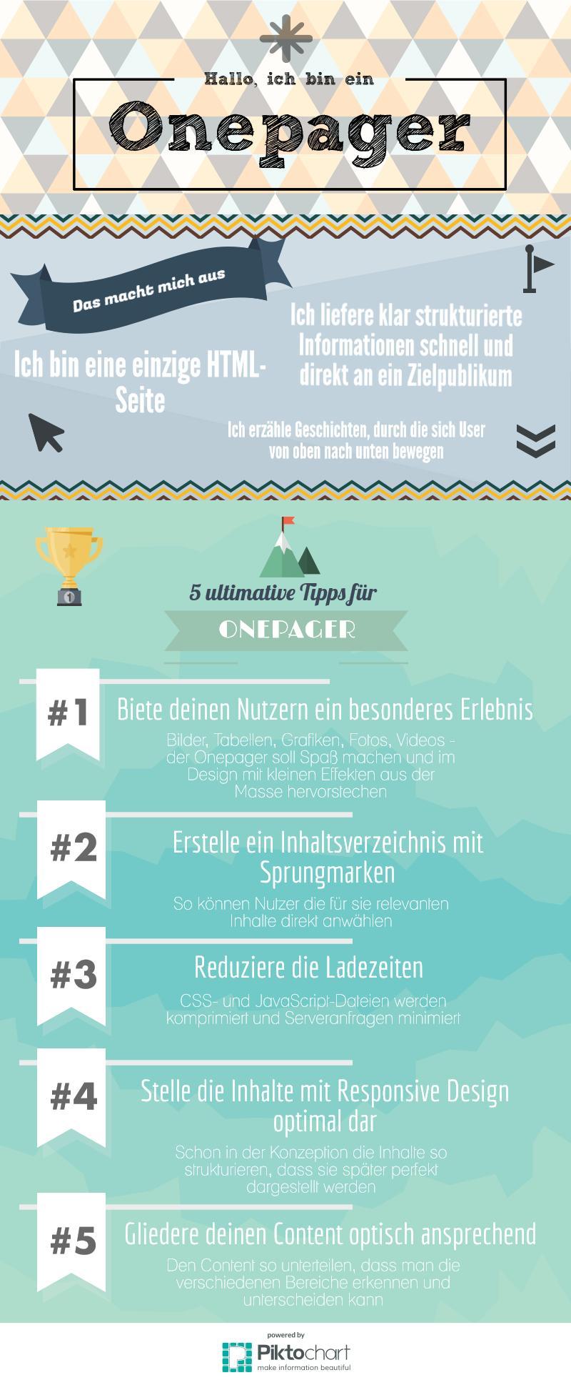 Infografik Onepager