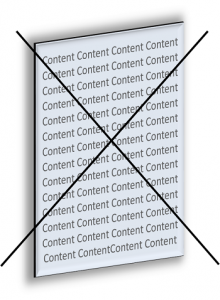 weniger-Content