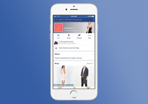 Facebook-Shopping-Funktion-Testlauf