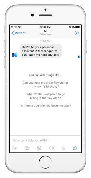 Facebooks Sprachassistent M