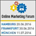Online Marketing Forum - Termine 2016