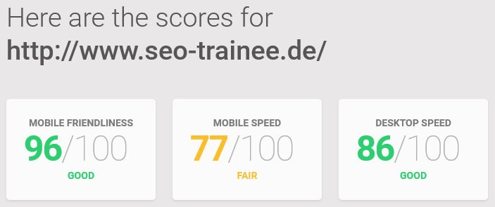 Speed-Mobile Test