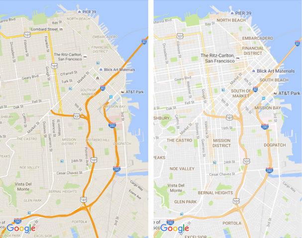 Google Maps Update