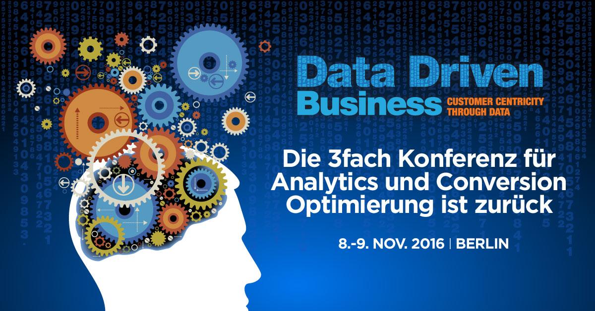 Data driven business 2016