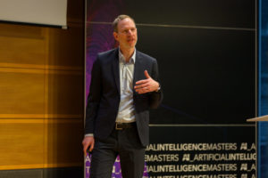 Tim Leberecht bei der AI Masters
