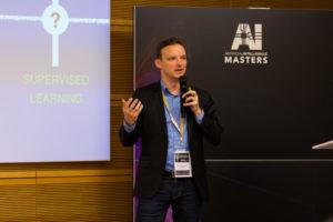 Alexandre Lebrun bei der AI Masters