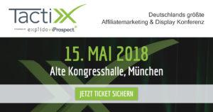 TactixX 2018 am 15.05. in der Alten Kongresshalle in München