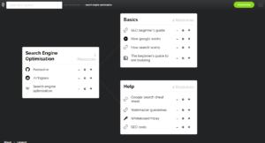 Screenshot von learn-anything.xyz