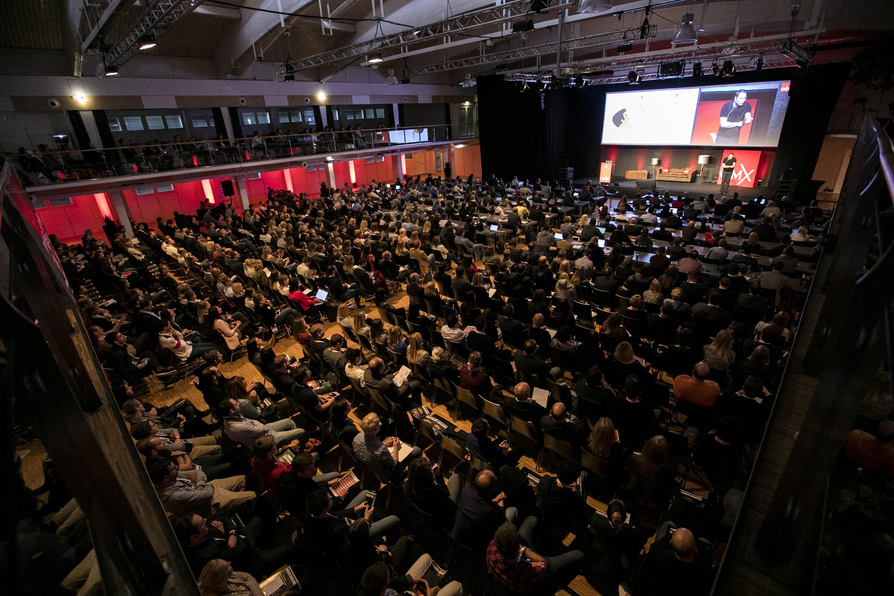 Voller Saal bei der OMX 2017