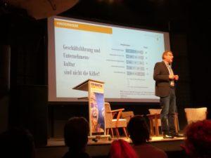 Christian Tunig referiert über Ergebnisse einer Adzine Innofact Studie.