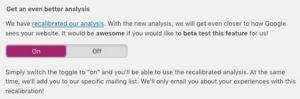 Stimmt hier zu, um an dem Beta-Test zur neuen Yoast-Version teilzunehmen.