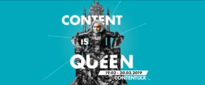 """Unter dem Motto """"Content is Queen"""" geht bald die Contentixx 2019 los."""