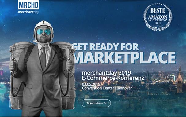 Banner des merchantday 2019
