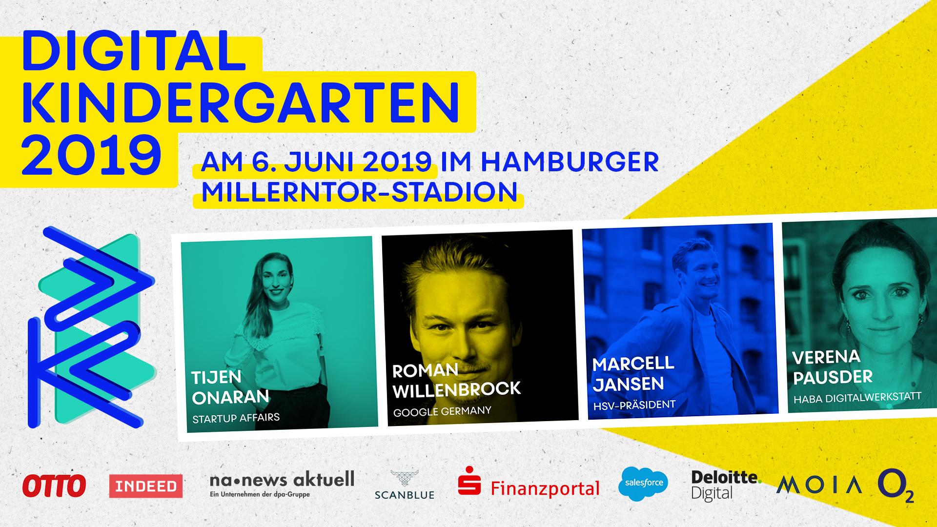 Am 06. Juni 2019 findet der DIGITAL KINDERGARTEN im Millerntor-Stadion statt.