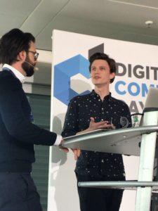 Niklas Heinen beim Digital Commerce Day 2019
