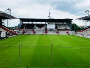 Das Millerntor-Stadion als Location für den Digital Kindergarten 2019.