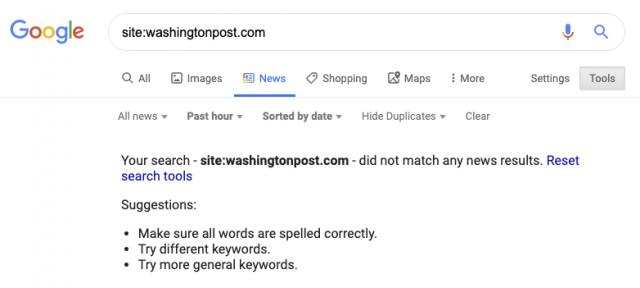 Google hat erneut Indexierungsprobleme.