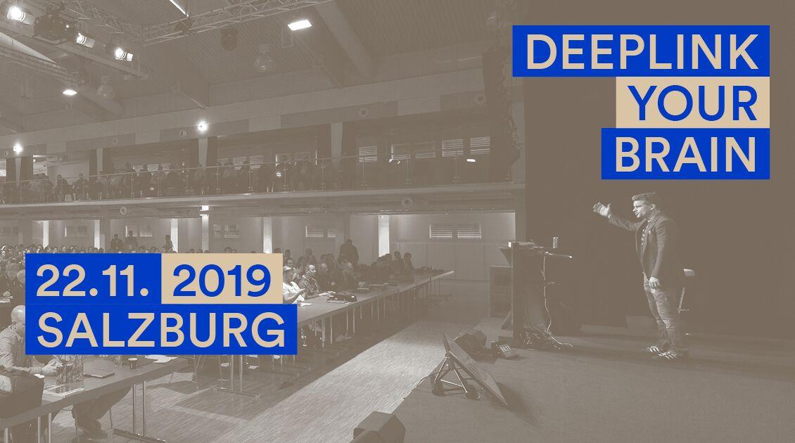 Die SEOkomm findet am 22.11.2019 in Salzburg statt.