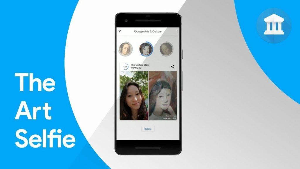 Mit der Arts & Culture App kann man seinen Selfie-Zwilling finden.