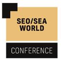 Logo der SEO/SEA World Conference in orange