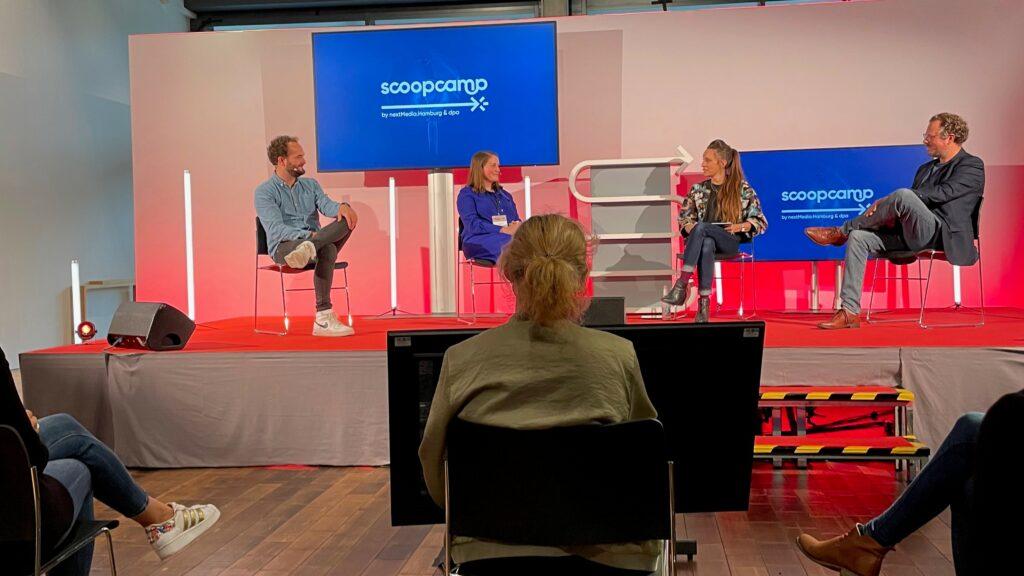 Panel-Diskussion zum Thema Social Audio